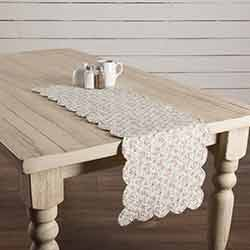 Carol Quilted 36 inch Table Runner