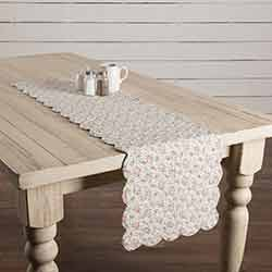 Carol Quilted 48 inch Table Runner