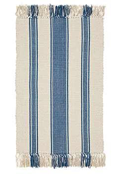Charlotte Blue Rug (20 x 30 inch)