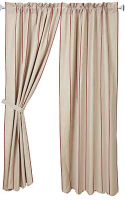 Charlotte Rouge Curtain Panels (84 inch)