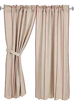 Charlotte Rouge 63 inch Curtain Panels
