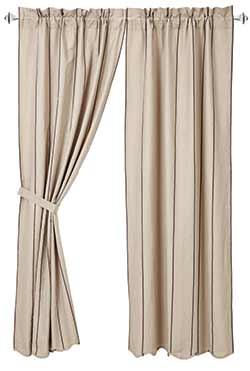 Charlotte Slate Curtain Panels (84 inch)