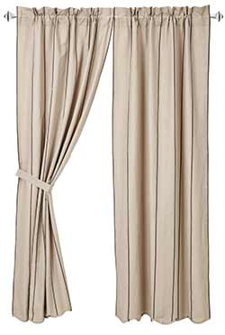 Charlotte Slate 63 inch Curtain Panels