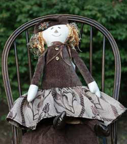 Chocolate Extra Large Scarecrow Girl