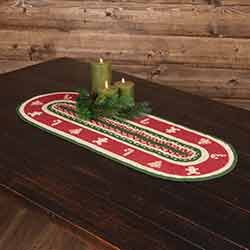 Christmas Cookies 36 inch Table Runner