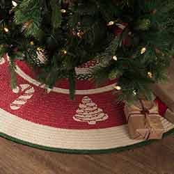 Christmas Cookies 48 inch Tree Skirt