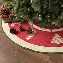 Christmas Cookies 55 inch Tree Skirt