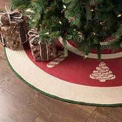 Christmas Cookies 60 inch Tree Skirt