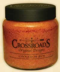 Crossroads Originals Cinnamon Bun Jar Candle - 16 ounce