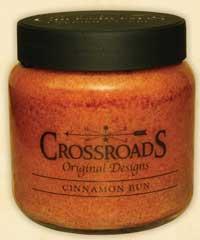 Crossroads Originals Cinnamon Bun Jar Candle - 16 ounce