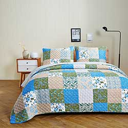 Country Garden Quilt Set - Queen/Full