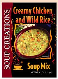 "Creamy Chicken and Wild Rice ""Old World"" Soup Mix"