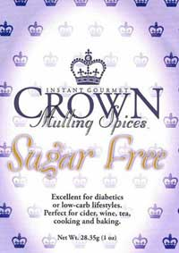 Crown Spices Mulling Spices Sugar Free :: Crown Spices