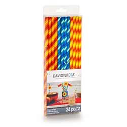 Fiesta Paper Straws (Set of 24)