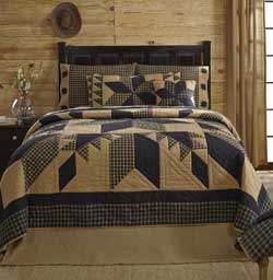 Dakota Star Quilt - Luxury King