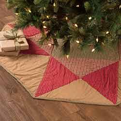 Dolly Star 55 inch Tree Skirt