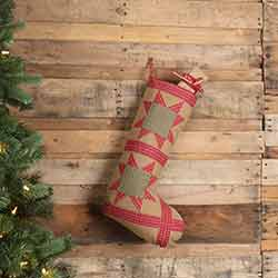 Dolly Star Tan Patch 20 inch Stocking