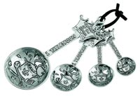 Queen of the Kitchen Measuring Spoons (Set of 4)