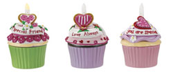 Special Friend Blow-out Cupcake Trinket Box