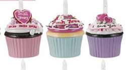 I Love You Blow-out Cupcake Trinket Box