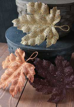 Shimmer Fall Leaf - Medium