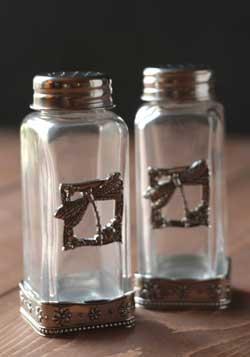 Dragonfly Salt and Pepper Shaker Set