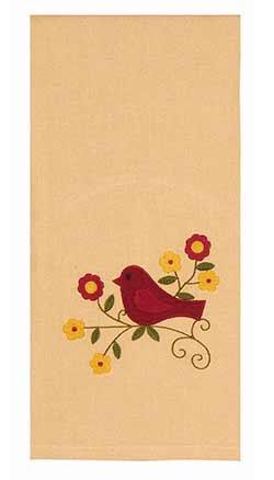 Song Bird Towels (Set of 2)