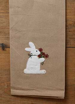 Bunny Bouquet Towel