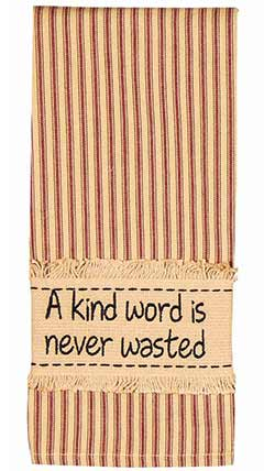 Raghu A Kind Word Towels (Set of 2)