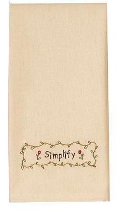 Simplify Towel