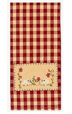 Two Sheep Towels (Set of 2)