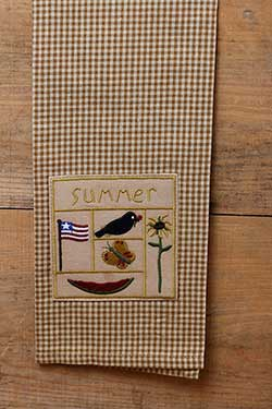 Summer Sampler Kitchen Towel