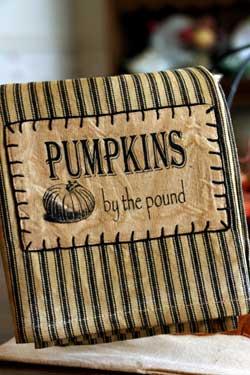Raghu Pumpkins by the Pound Towel