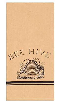 Bee Hive Towels (Set of 2)