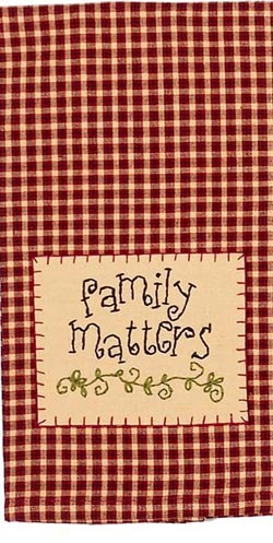 Family Matters Towel