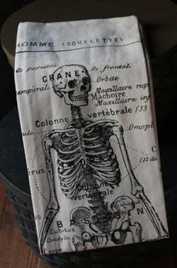 Raghu Skeleton Towel