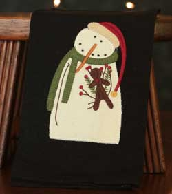 Mr. Winterclaus Towel