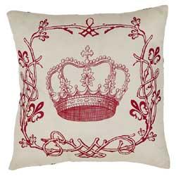 Elysee Crown Decorative Pillow