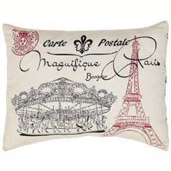 Elysee Paris Decorative Pillow