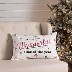 Emmie Wonderful Time Pillow (14x22)