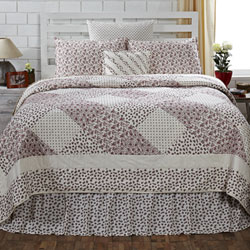 English Cottage Quilt - Queen