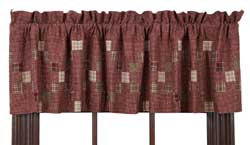 Everson Valance with Irish Chain