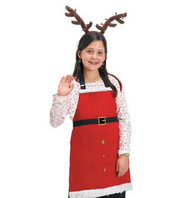 Santa Children's Apron