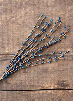 Blue 18 inch Pip Berry Pick