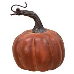 Mini Faux Pumpkin - 3.5 inch