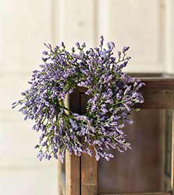 Purple Array Astilbe 3 inch Candle Ring