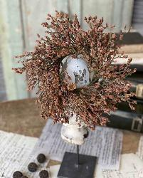 Pumpkin Fall Array Astilbe 3 inch Candle Ring