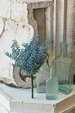 Blue Bursting Astilbe 10.5 inch Pick