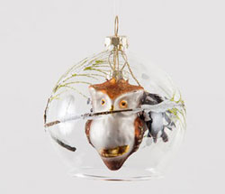 Owl Dome Ornament