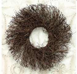 Angel Vine Twig Wreath - 11 inches